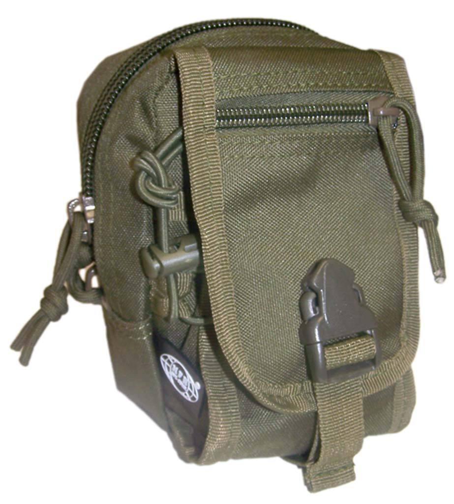 Bolso Multifunción Pequeño Verde oliva bolso de estilo militar casual molle