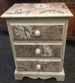 Old Time Small Chest of Drawers