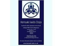Kensaki Iaido dojo classes