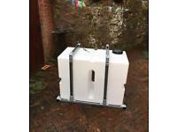 350l water tank metal Frame / window cleaning