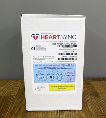 New Zoll Heartsync Pediatric Multifunction Electrode Pads M E R Series