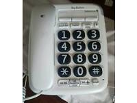HOUSE TELEPHONE with extra large buttons