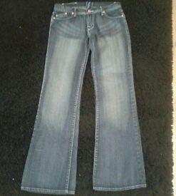 victoria beckham jeans size 12