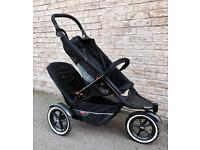 Phil & Teds Explorer Single or Double Buggy Pushchair Stroller £180 ONO ⭐