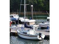 Hurley Signet 20ft Bilge Keel sailing yacht.