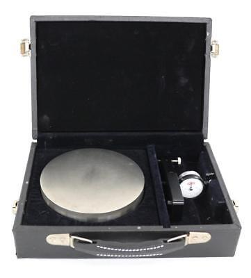 Lapmaster Flatness Gauge 10251bj-lap With Flat Plate Case