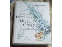 3 WITCHCRAFT ENCYCLOPEDIA BOOKS