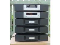 Linn Majik Ds , Kontrol 2 x 2100 Amps 1 x 4100 Amp + Aktic cards for Majik 140 Speakers