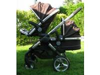 Icandy Double Pram