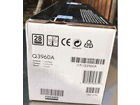 HP 122A Black Original LaserJet Toner Cartridge (Q3960A)