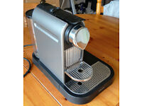 Nespresso Citiz Coffee Machine and Milk Frother - Good condition