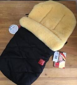Kaiser Natura Footmuff - brand new with tags