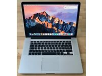 "Apple MacBook Pro Retina 15"" (Mid 2012) - 2.3GHz Intel Core i7, 8GB Ram, 256GB SSD"