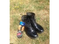 Doctor Martens Boots. (Size 10)