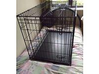 Single Door Dog Training Crate - Medium