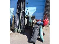 Large amount of Fishing Equipment