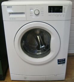 Beko 7kg Washing Machine, 1300 Spin, Digital Display, 6 Month Cover
