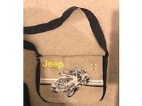 Jeep Haynes messenger bag