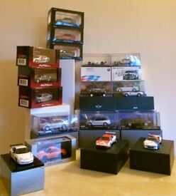 DIECAST 1/43RD MODEL CARS FOR SERIOUS COLLECTORS - AUTOART MINICHAMPS - FANTASTIC!