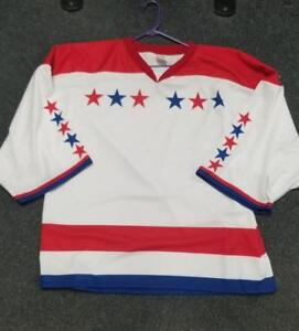 Washington Capitals Goalie Cut Practice Jersey