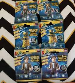 6x Brand New Dr Who Lego Figures