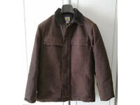 Men's Carhartt Sandstone Traditional Winter Coat Brown S