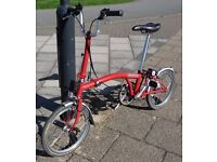 Brompton Folding Bike M3L - in excellent condition.