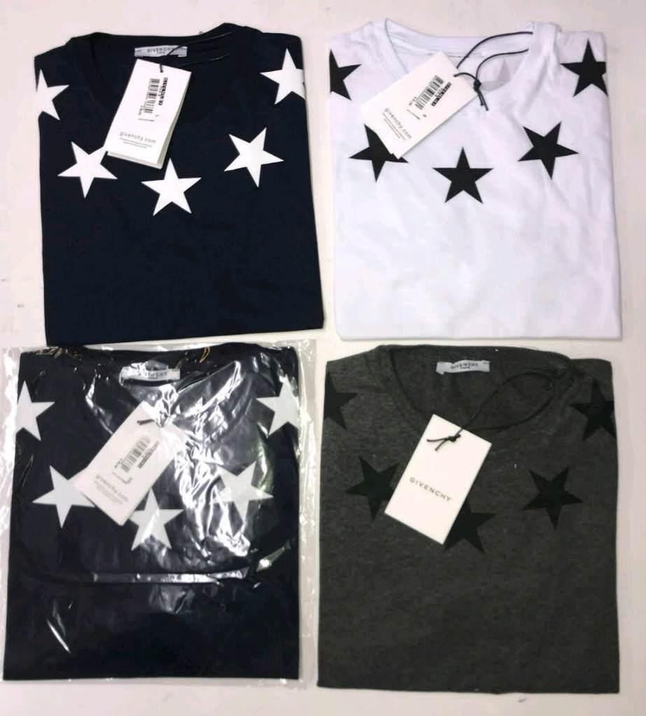 Givenchy star print t shirts