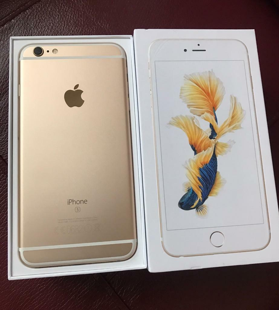 iphone 6s gold iphone 6s plus gold 32gb on ee warenty till february 2018 11481