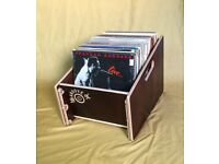 "Groove Box 12"" standard record storage box"