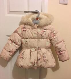 Next 2-3yrs pink fairy coat