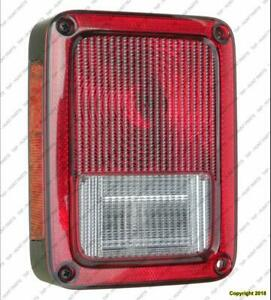 Tail Light Driver Side Jeep Wrangler 2007-2017
