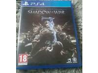Middle Earth Shadow of War PS4