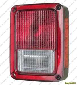Tail Lamp Passenger Side High Quality Jeep Wrangler 2007-2017