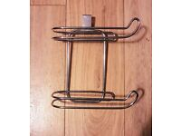 Must Go | As New Metal / Stainless Steel Toilet Roll Holder | Double | Toilet Accessory | Doncaster