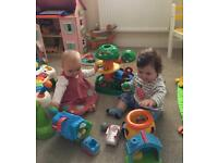 Charlotte and Margot who are 10 months old need a special person to look after them while we work.