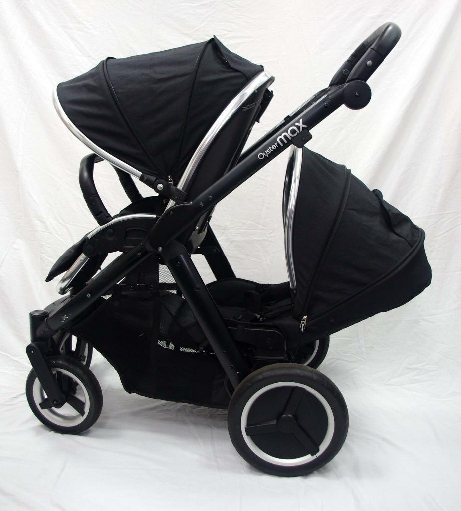 BabyStyle Oyster Max 2 Black
