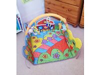 Beautiful Playmat and Arch / Baby Gym in great condition