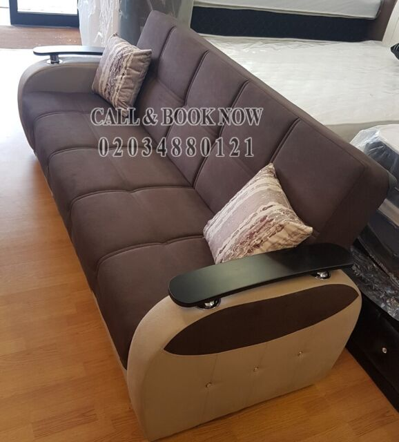 Wondrous Sale 40 Off Persian Fabric 3 2 1 Seater Sofa Bed Settee With Storage Sofabed In Black Or Brown In Hounslow London Gumtree Machost Co Dining Chair Design Ideas Machostcouk