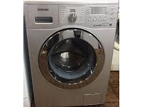 Samsung WF0702WKU 7kg 1200 Spin Silver LCD A++ Rated Washing Machine 1 YEAR GUARANTEE FREE FITTING
