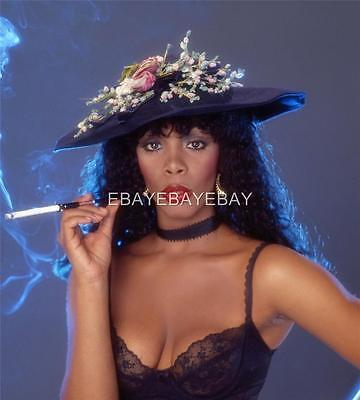 Superb High Resolution Sexy DONNA SUMMER Embossed 11x14 Photo By Langdon HA40 on Rummage