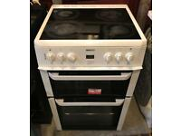 BEKO 60CM WIDE ELECTRIC COOKER EXCELLENT CONDITION, 4 MONTH WARRANTY