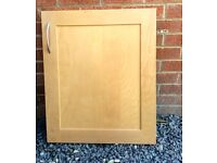 Kitchen cupboard doors and drawers - Light colour Solid Beech