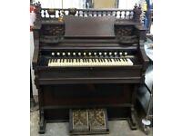 A Ornate Victorian Air Organ / Pump Organ Doherty