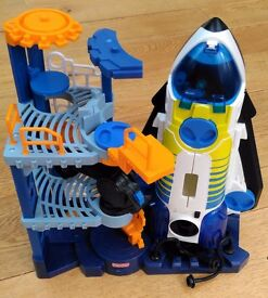 Fisher-Price Space Shuttle & Tower Imaginext