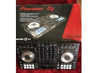 Pioneer DDJ-SX Dj controller, Magma case and Deck Saver
