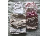 baby bedding (moses basket sheets) and blankets