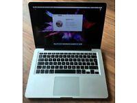 Macbook Pro 13 inch, 2.4 Ghz, 8GB RAM, 500GB HD, Superdrive - good condition