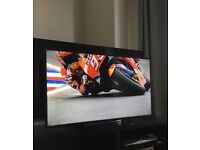 """Technika 40"""" Full HD Slim LED TV with Freeview."""