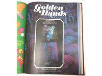GOLDEN HANDS MAGAZINE SET. VOLUMES 1 - 5. MARSHALL CAVENDISH CRAFT MAGAZINES 2ND EDITION